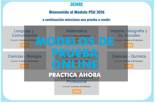Modelos de prueba online